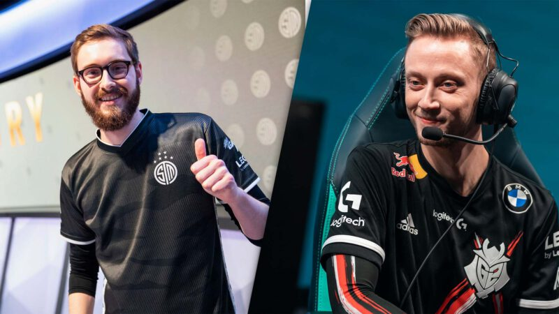 Bjergsen and Rekkles to join NIP